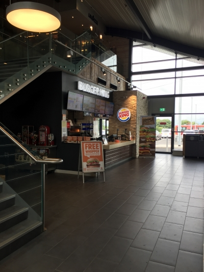 Burger King Templepatrick Motorway Service Area