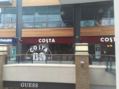 Costa Coffee Victoria Square In Belfast Northern Ireland